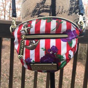 Betsy Johnson Crossbody Bag - compact size